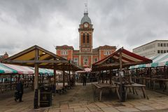 De Markt van Chesterfield Royalty-vrije Stock Afbeelding
