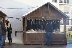 De markt van de Christnasstraat in Sevilla 07 Royalty-vrije Stock Foto's