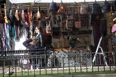 De markt van de Christnasstraat in Sevilla 14 Stock Foto's