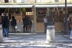 De markt van de Christnasstraat in Sevilla 15 Stock Foto