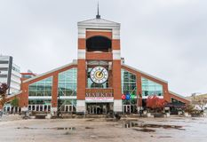 De Markt van de Coventtuin in Lonton, Canada stock foto's