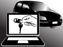 De markt van de auto Vector Illustratie