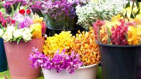 De markt van de bloem Royalty-vrije Stock Afbeeldingen