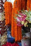 De markt van de bloem Stock Foto