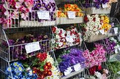 De markt van de bloem Stock Afbeelding