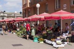 De markt van de bloem Royalty-vrije Stock Foto's