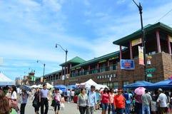 De Markt 2016 van de Chinatownzomer - Chicago Stock Foto's