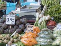 De markt van de Italiaanse landbouwer Stock Foto's
