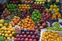 De markt van de kruidenierswinkel Stock Fotografie