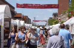 De Markt van de Kunst van het Gebied van de Straat van de Staat van Ann Arbor Royalty-vrije Stock Afbeelding