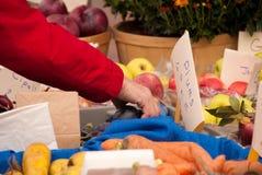De Markt van de landbouwer Royalty-vrije Stock Foto