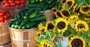 De Markt van de landbouwer Royalty-vrije Stock Foto's