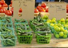 De Markt van de landbouwer Royalty-vrije Stock Fotografie