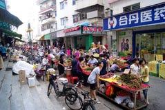 De markt van de landbouwer Stock Foto's