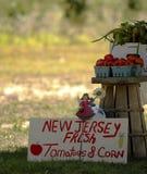De Markt van de Landbouwer van New Jersey Stock Foto's