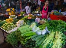 De Markt van de Maeklongspoorweg Stock Afbeelding