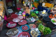 De Markt van de Maeklongspoorweg Royalty-vrije Stock Afbeeldingen