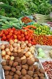 De markt van de ochtend in lauang prabang, Laos Stock Foto