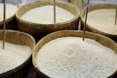 De markt van de rijst Stock Afbeeldingen
