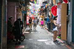De Markt van de Shilinnacht Stock Foto's
