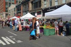 De Markt van de straat Stock Foto