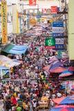De markt van de straat in de Filippijnen Royalty-vrije Stock Fotografie