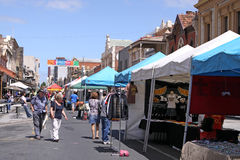 De Markt van de Straat van Rundle Stock Fotografie