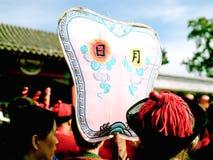 De markt van de tempel, Celebratioin van Chinees Nieuwjaar stock foto