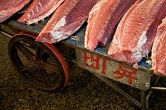 De Markt van de Vissen van Tsukiji Stock Afbeelding
