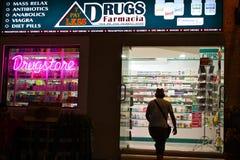 De Markt van de vrije Drug in Mexico Royalty-vrije Stock Foto