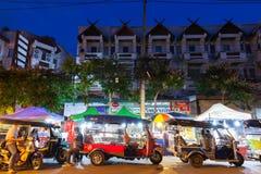 De Markt van de zaterdagnacht, Chiang Mai, Thailand Stock Fotografie