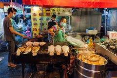 De Markt van de zaterdagnacht, Chiang Mai, Thailand Stock Foto