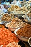 De Markt van de zeevruchten van Hin van Hua royalty-vrije stock foto's
