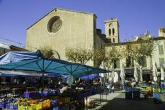 De markt van de zondag in Pollenca, 9 Dec. 2012 Royalty-vrije Stock Foto