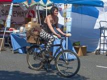 De Markt van de haagdoornstraat, Portland, Oregon, Communautair Jaarlijks evenement stock afbeeldingen