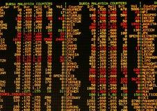 De markt van het aandeel royalty-vrije illustratie