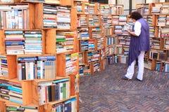 De markt van het boek Stock Foto's