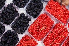 De markt van het fruit royalty-vrije stock afbeelding