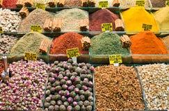 De markt van het kruid Stock Afbeeldingen