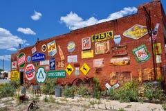 De Markt van het Stadsvlees in Erick, Oklahoma Royalty-vrije Stock Foto's