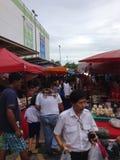 De Markt van het straatvoedsel Stock Afbeeldingen