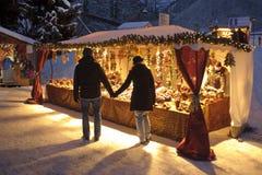 De markt van Kerstmis Royalty-vrije Stock Afbeeldingen