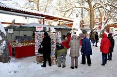De markt van Kerstmis Stock Afbeelding