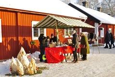 De markt van Kerstmis Royalty-vrije Stock Afbeelding