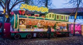 De markt van Kerstmis in Berlijn Royalty-vrije Stock Afbeeldingen