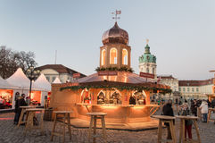 De markt van Kerstmis in Berlijn Royalty-vrije Stock Afbeelding