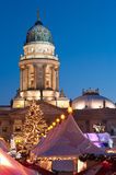 De markt van Kerstmis in Berlijn, Duitsland royalty-vrije stock foto's