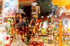 De markt van Kerstmis in Brugge, België Royalty-vrije Stock Afbeelding