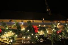 De markt van Kerstmis in Duitsland stock foto's