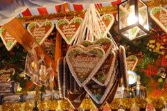 De markt van Kerstmis in Duitsland stock afbeeldingen